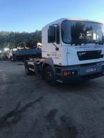 ERF ECS sleeper cab